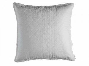EMILY EUROPEAN PILLOW / WHITE LINEN 26X26