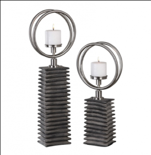 Eugenio Candleholders, Set/2