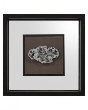 Geode's Silver Crystal III Shadow Box