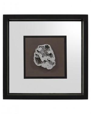 Geode's Silver Crystal IV Shadow Box