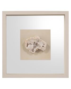 Geode's White Crystal I Shadow Box