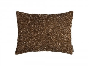 JEWEL SM. RECT. PILLOW / COPPER BEADS 12X16