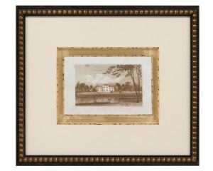 Jones I European Sepia Print of Wolseley Hall