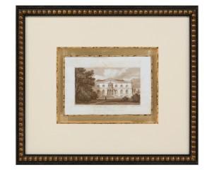 Jones IV European Sepia Print of Bishopthorpe Palace