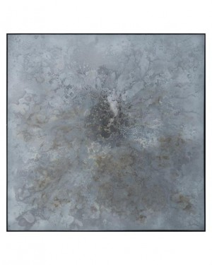 Luoxiong's Celestial Silver Sky Abstract