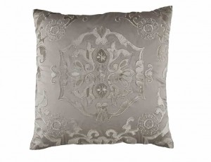 MOROCCO SQ. PILLOW / TAUPE S&S / FAWN VELVET 24X24