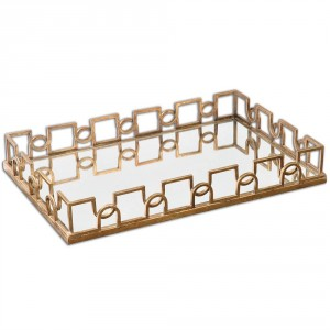 Nicoline Tray, Mirrored