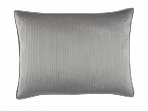 RETRO STANDARD PILLOW / PEWTER S&S 20X26