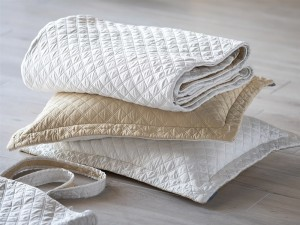 SILK & SENSIBILITY COVERLET TOTE KING / IVORY S&S / ECRU S&S 112X98