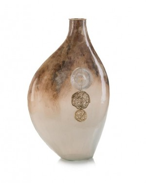 Terra-Finished Ovoid Vase